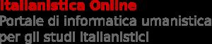 Italianistica Online